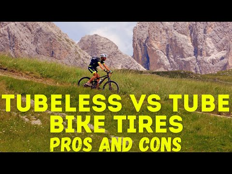 Tubeless Vs Tube Bike Tires: Pros and Cons