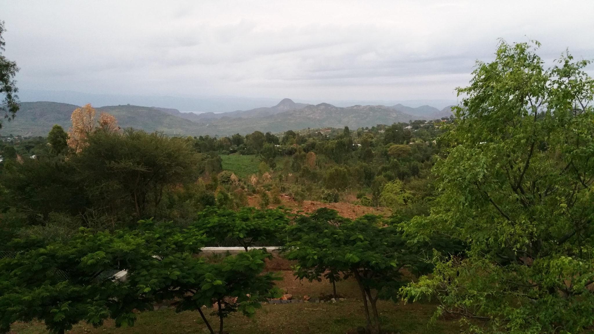 View from Kanta Lodge