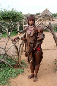 Hamar Woman in the Omo Valley
