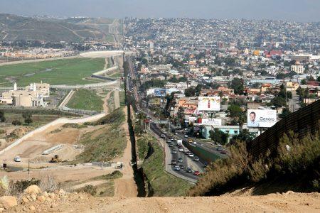 Walking Across the Border to Tijuana