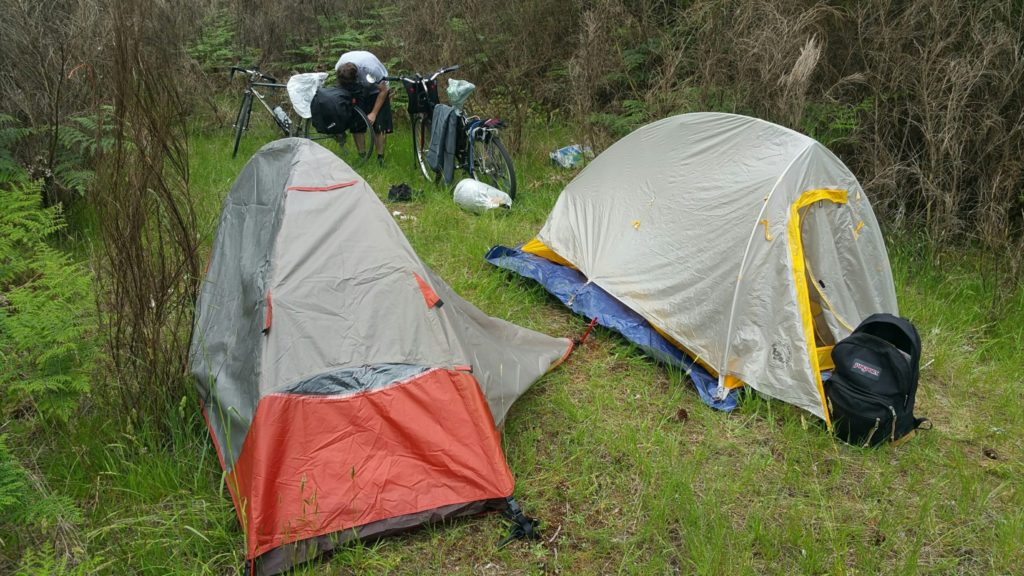 ALPS Mountaineering Lynx 1-person tent pitched in Washington State