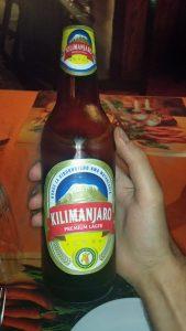 Kilimanjaro beer in Tanzania
