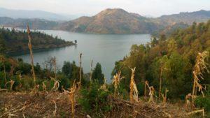 Beautiful Lake Kivu, Rwanda