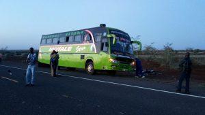 Bus in Kenya