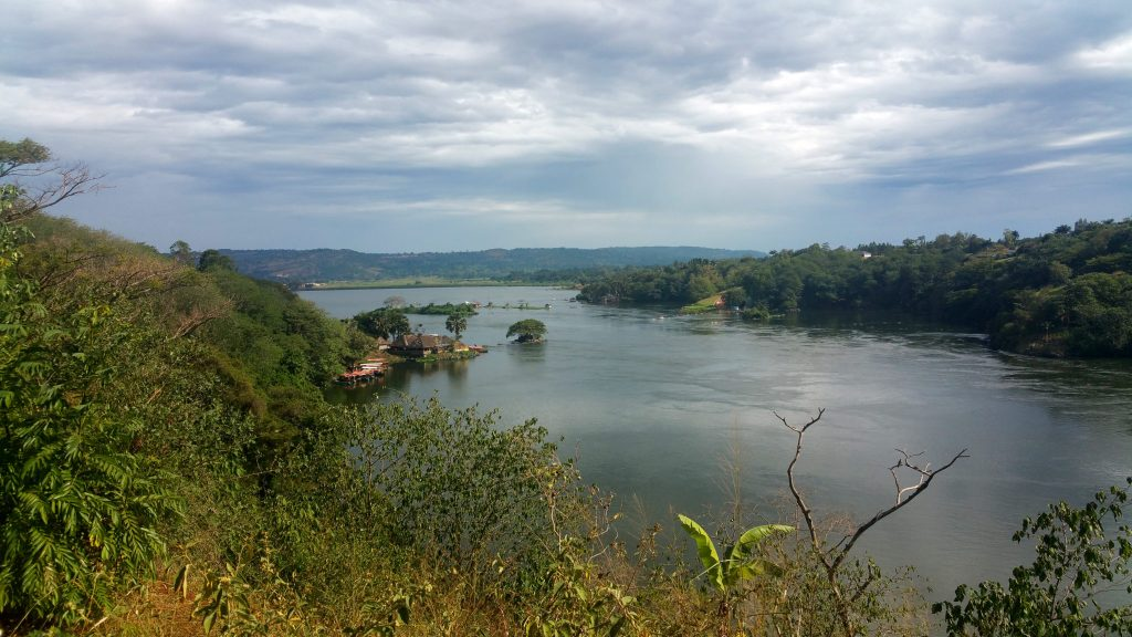 The source of the Nile in Jinja