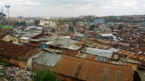 The view overlooking Kibera