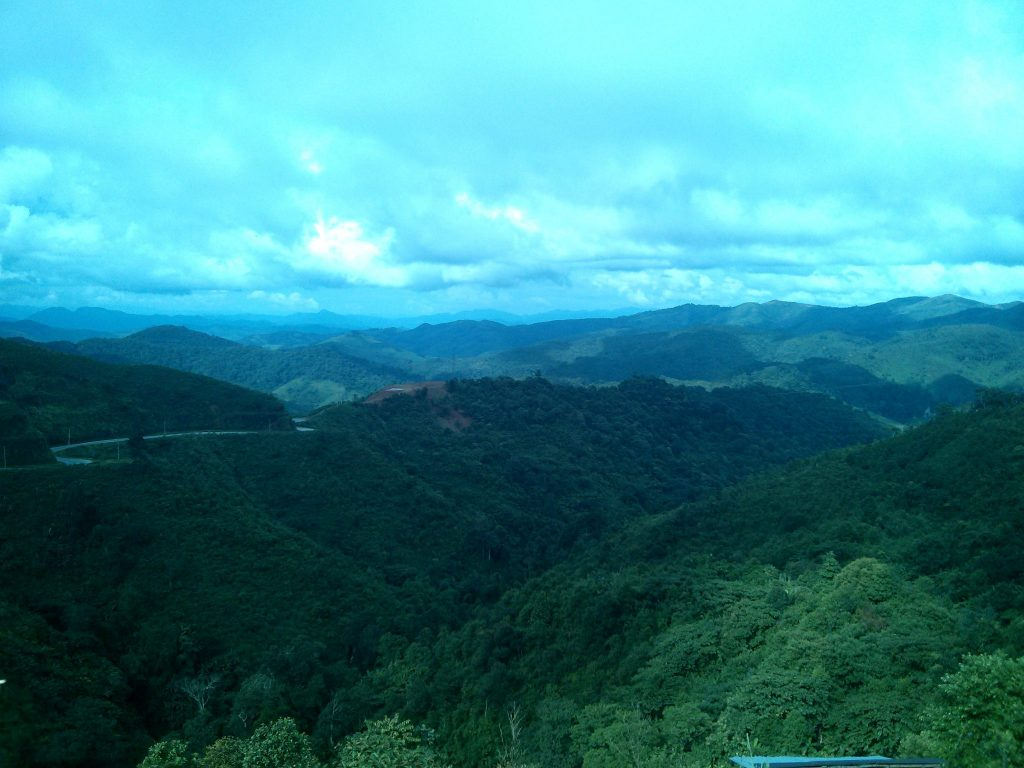 Hills somewhere in Northern Vietnam