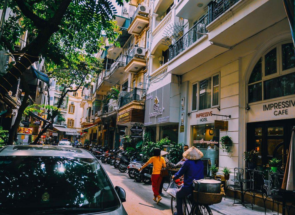 having and adventure in Vietnam
