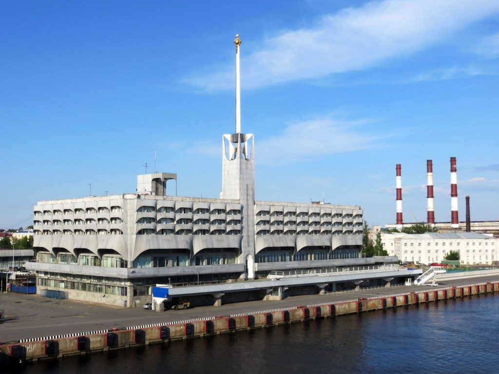 The St. Petersburg Ferry Terminal