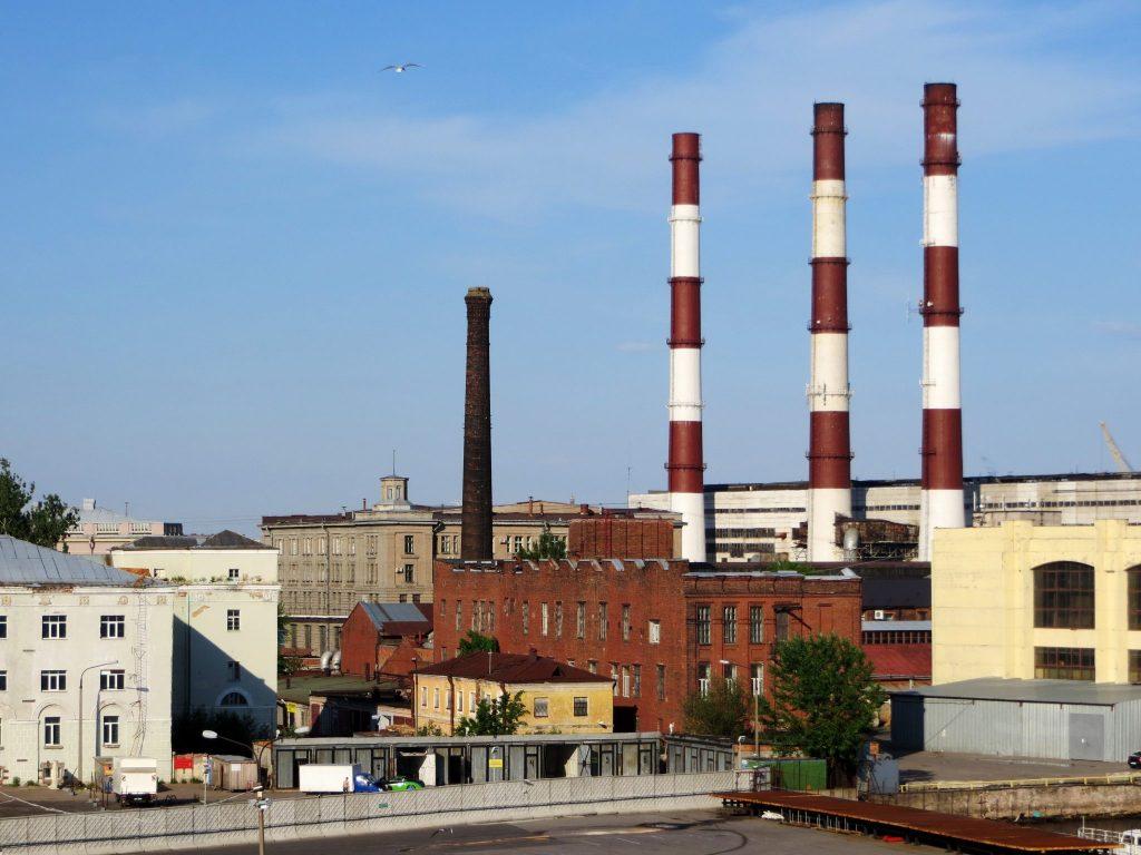 Industrial park in St. Petersburg