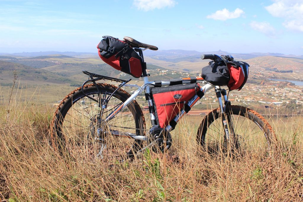 an off road touring bike