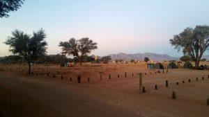 Camping in Sesriem