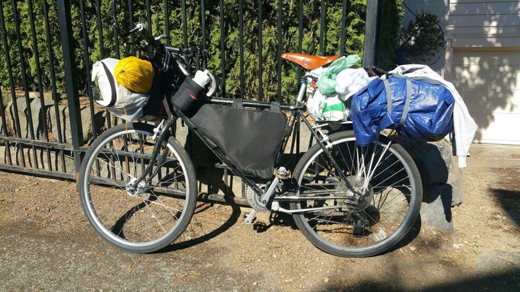 budget bikepacking setup