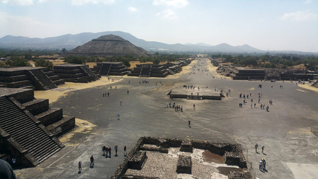 Teotihuacan, near Mexico City
