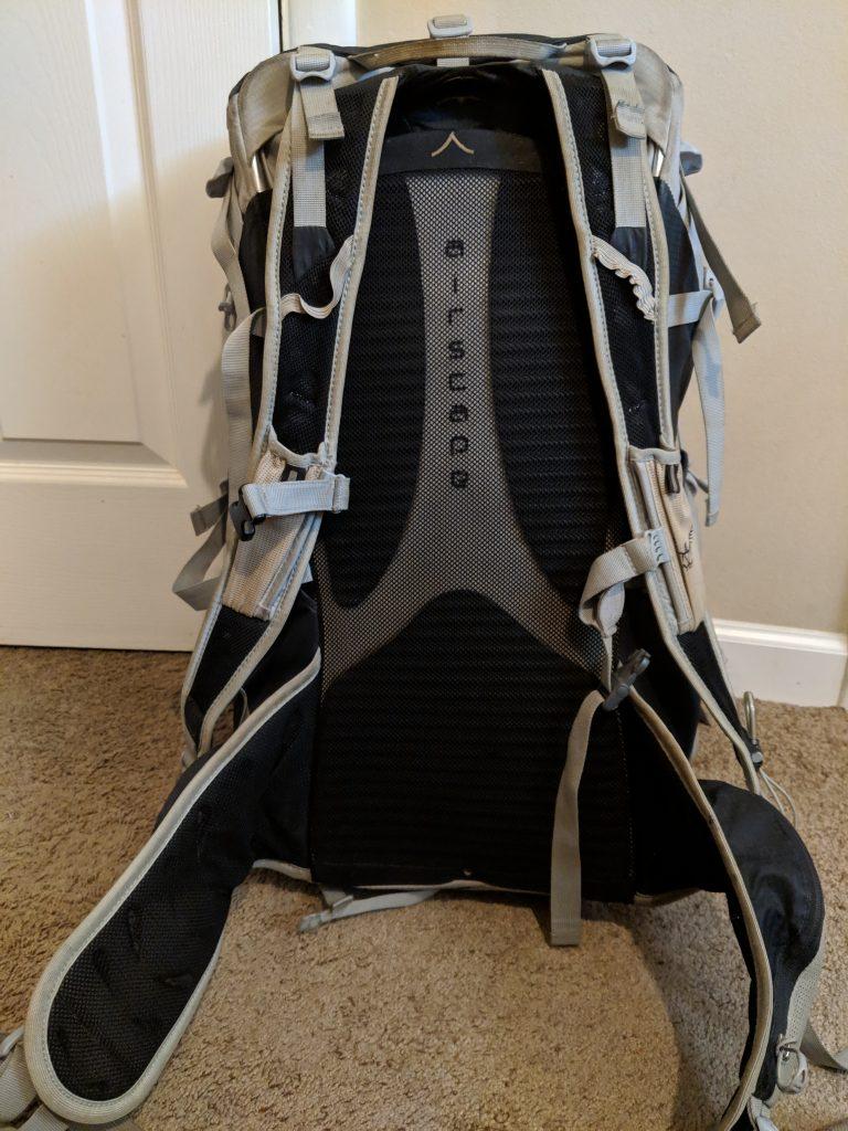 Osprey Talon 44 Straps and Hip Belt