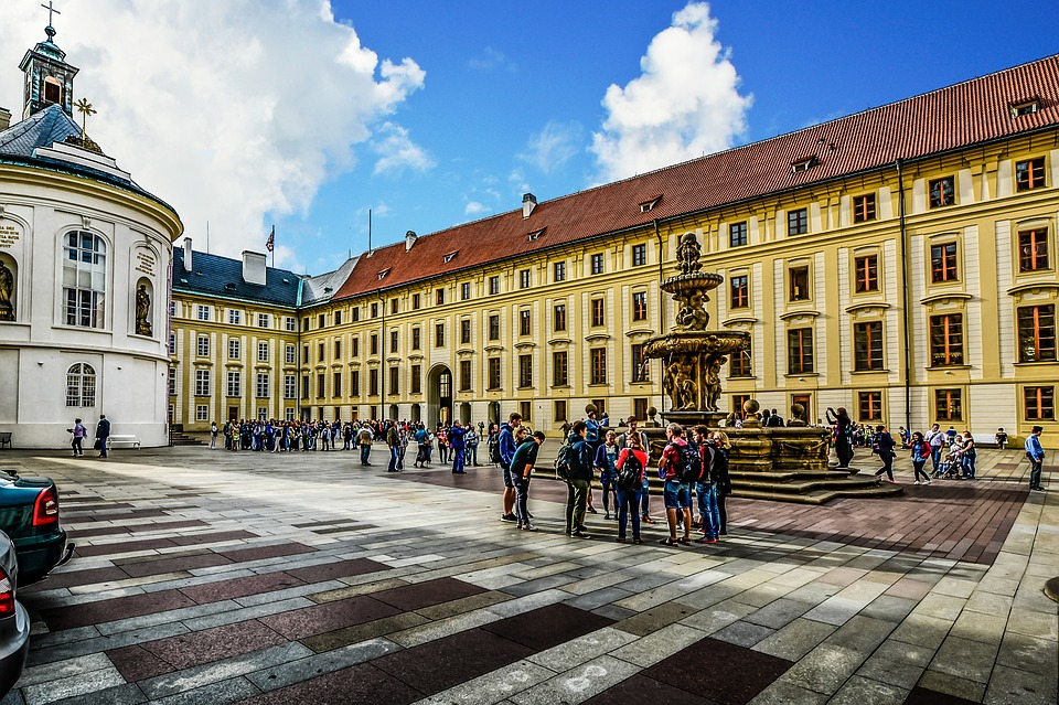 A free walking tour in Prague