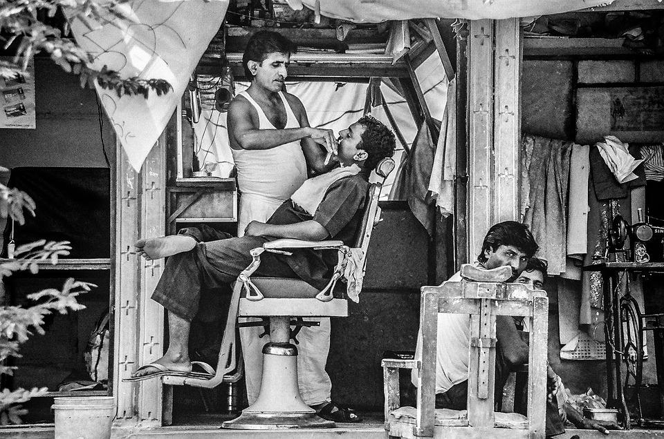 roadside barbershop