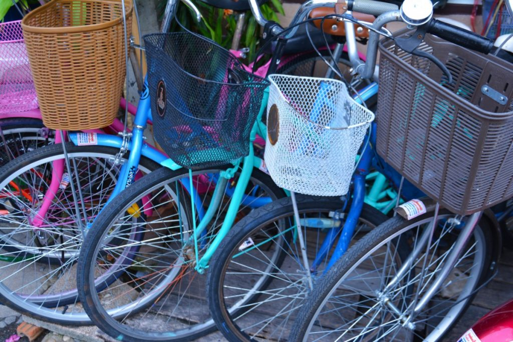 Bikes with front baskets