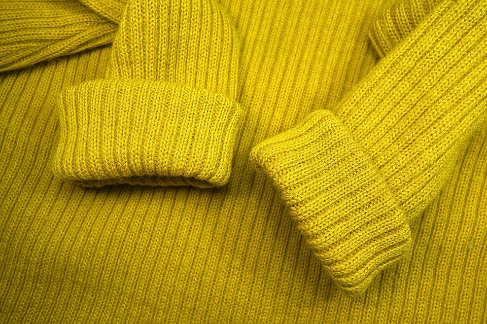 A wool sweater