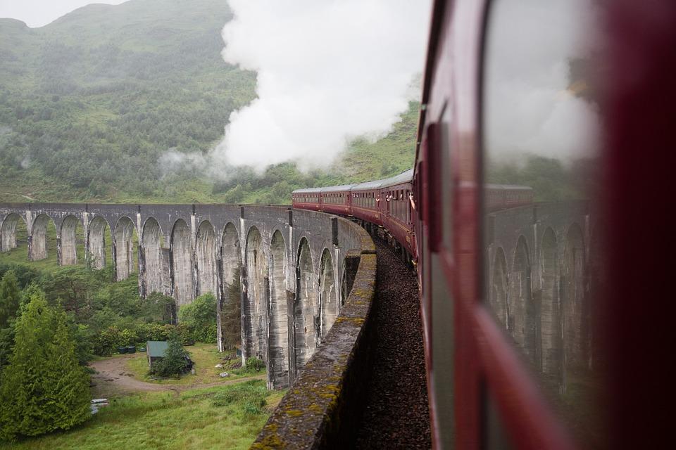 A train in scotland