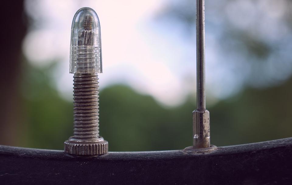 a Presta valve