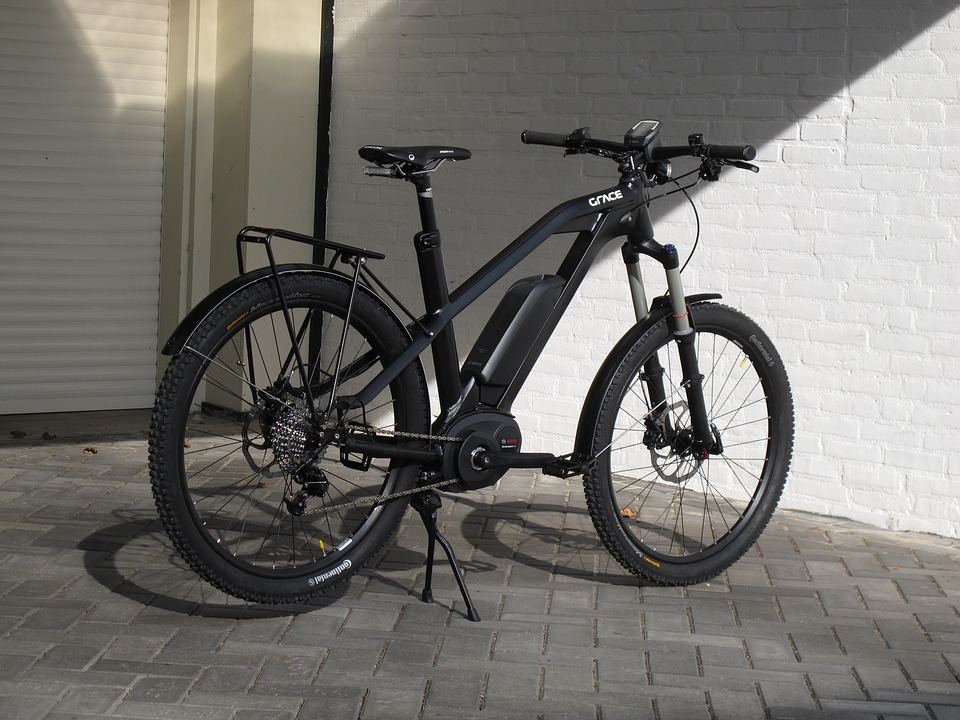 electric bike with mid drive motor