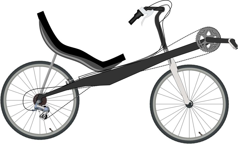 a recumbent bike