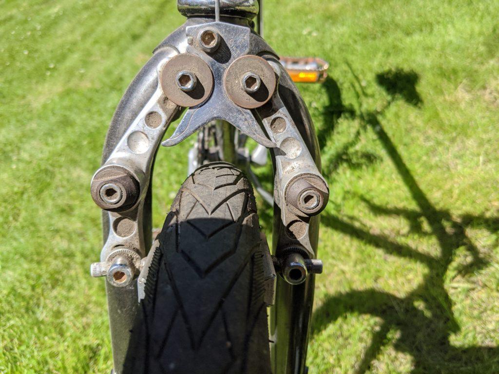 front roller cam brakes