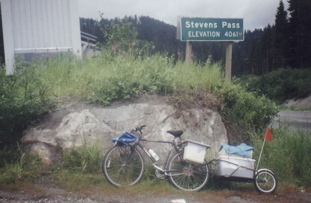 axle mount bike trailer