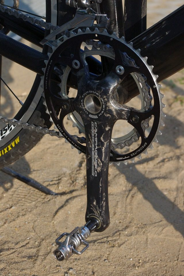 A Crank Brothers clipless pedal
