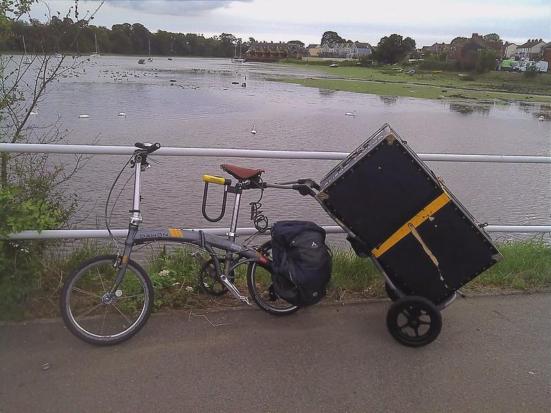 seatpost mount trailer