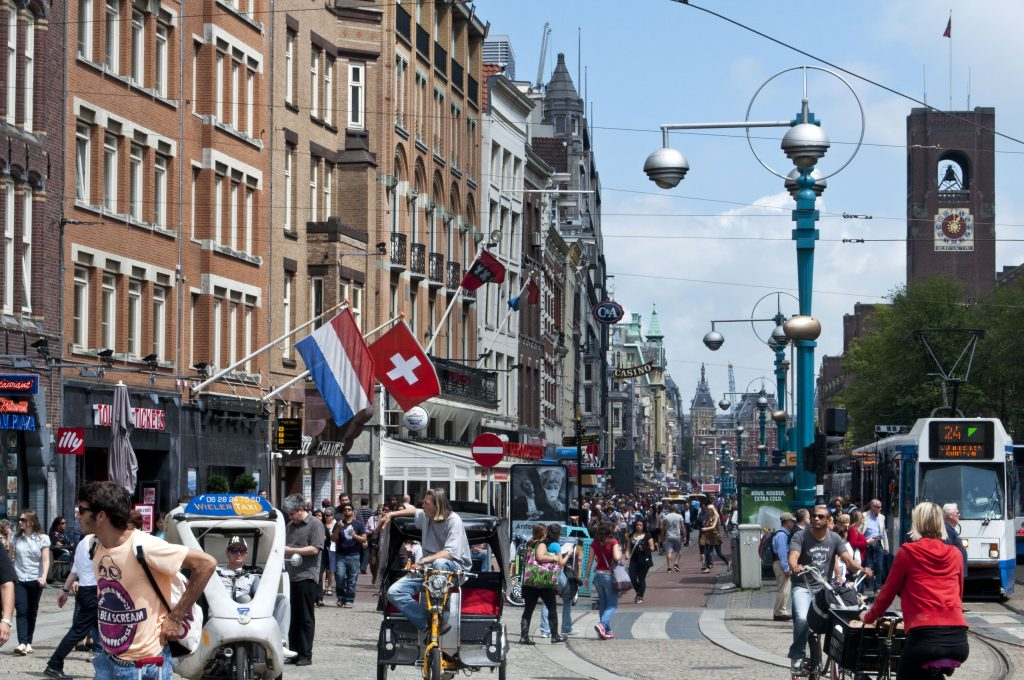 Amsterdam during the day