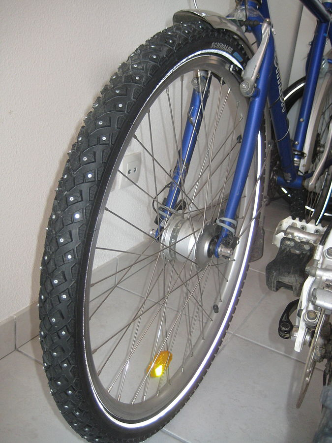 Schwalbe studded tires
