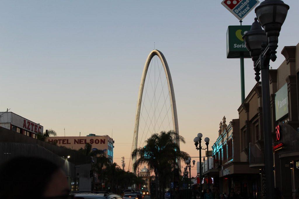 Tijuana Arch on Avenida Revolucion