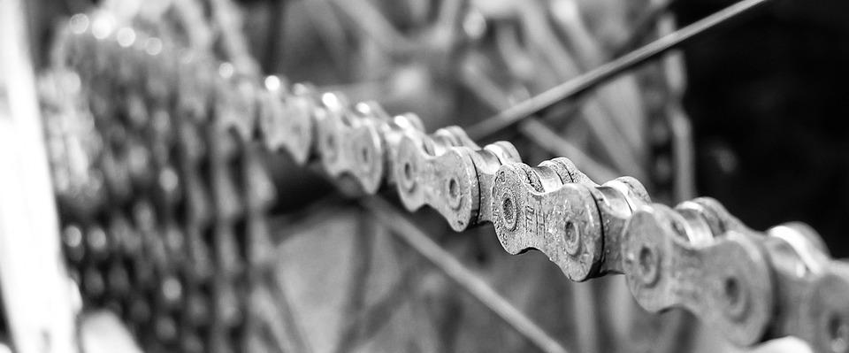 a straight chainline