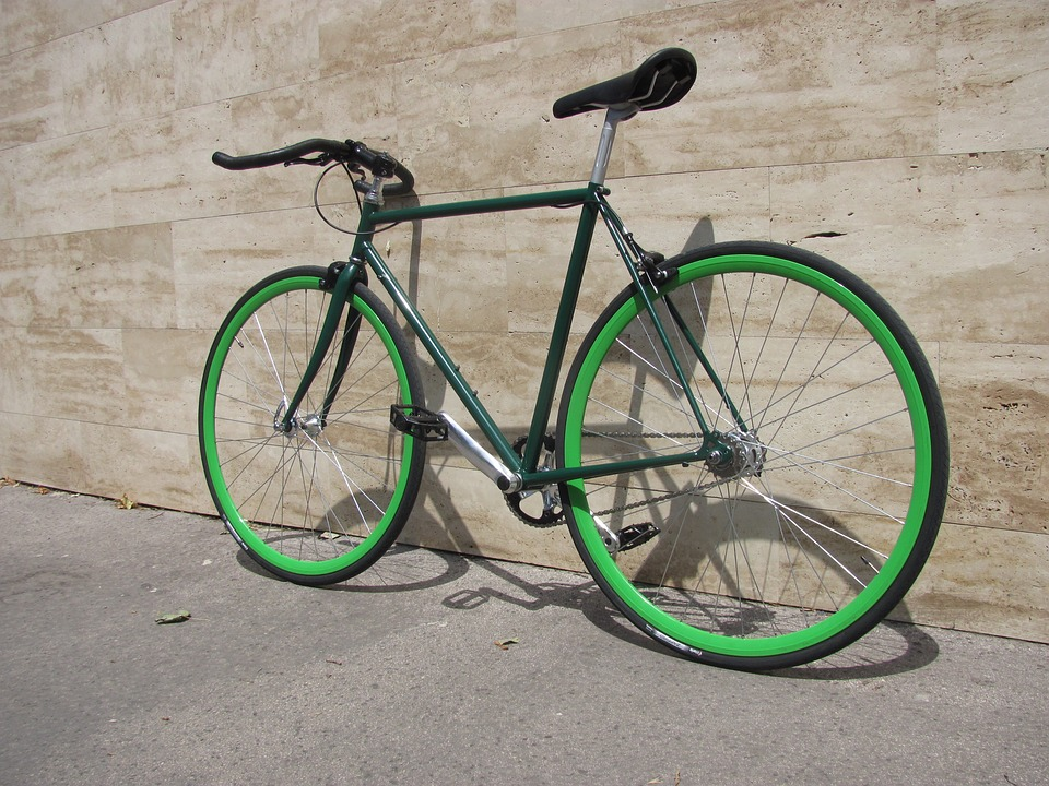 A single speed bike